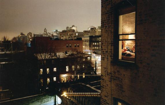 Gail Albert Halaban Out My Window at Robert Mann Gallery