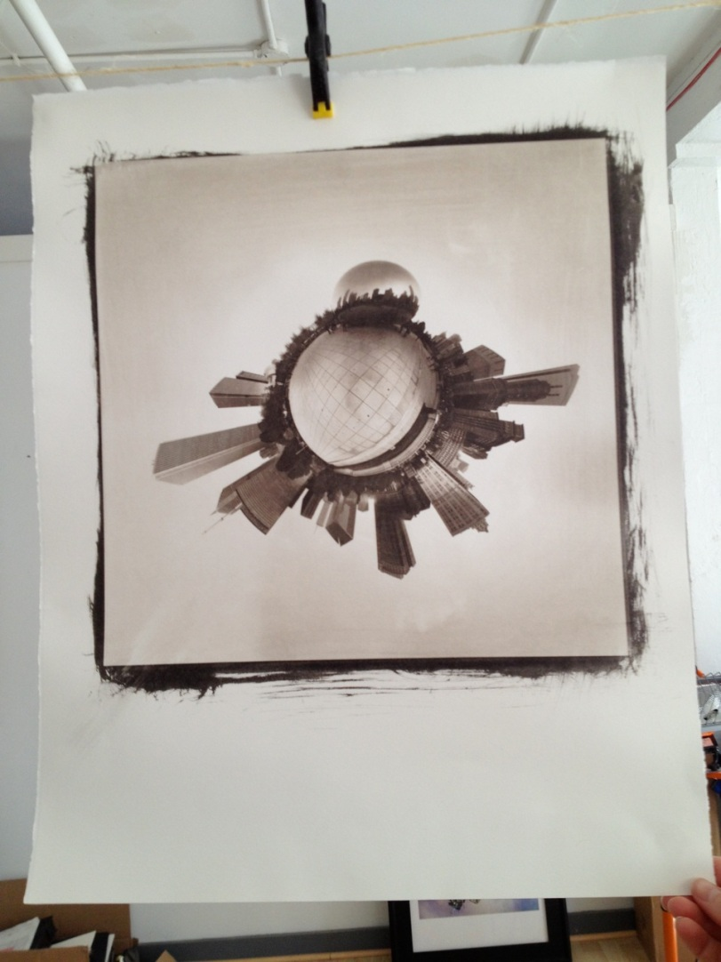 Pt/Pd print on Arches Platine